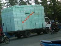gambar contoh produk kasur busa inoac palsu