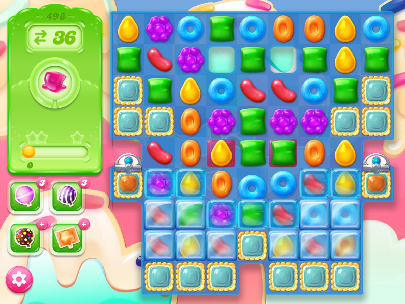 Candy Crush Jelly Saga 498