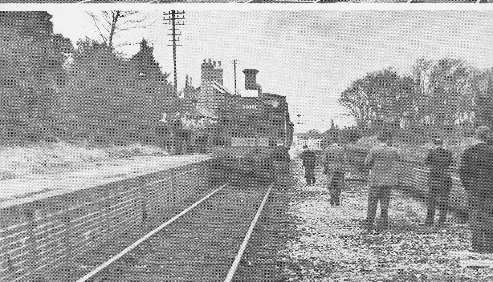 Railtour 7th March 1959