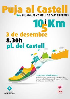36ª Pujada al Castell de Castelldefels