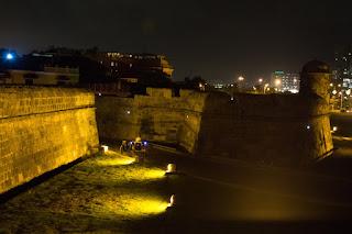 muralhas cartagena de índias noite