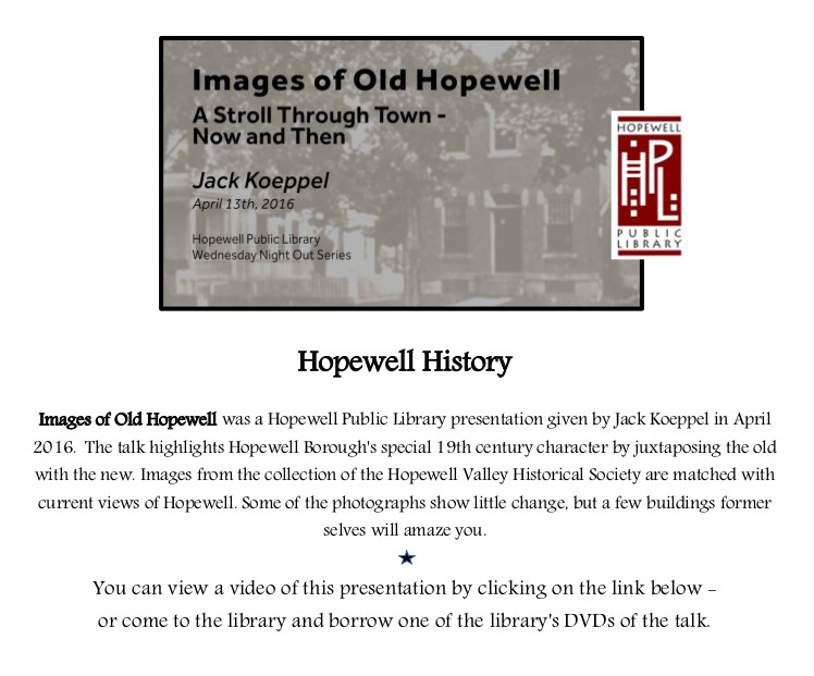 Images of Old Hopewell