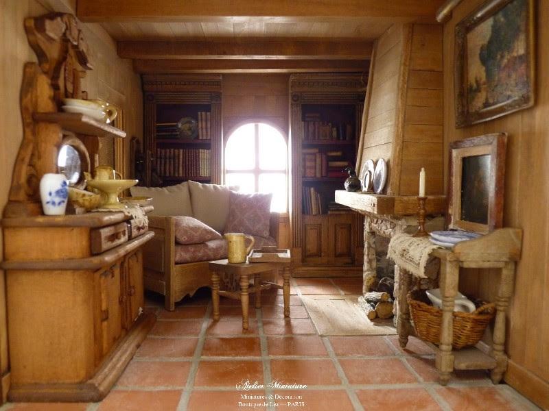 petite maison aux allures de chalet cosy. Black Bedroom Furniture Sets. Home Design Ideas