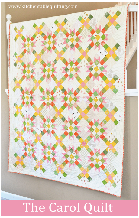 The Carol Quilt Pattern Now Available Kitchen Table Quilting