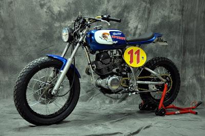 Yamaha SR 250 Tracker