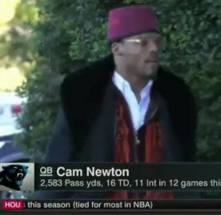cam newton moorish american fez