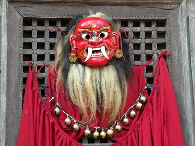 Traditional Nepalese mask