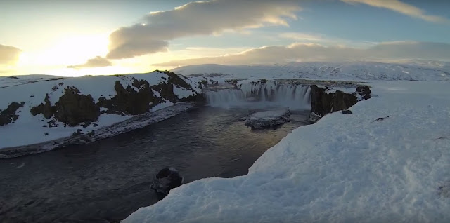 amazing view of north Iceland