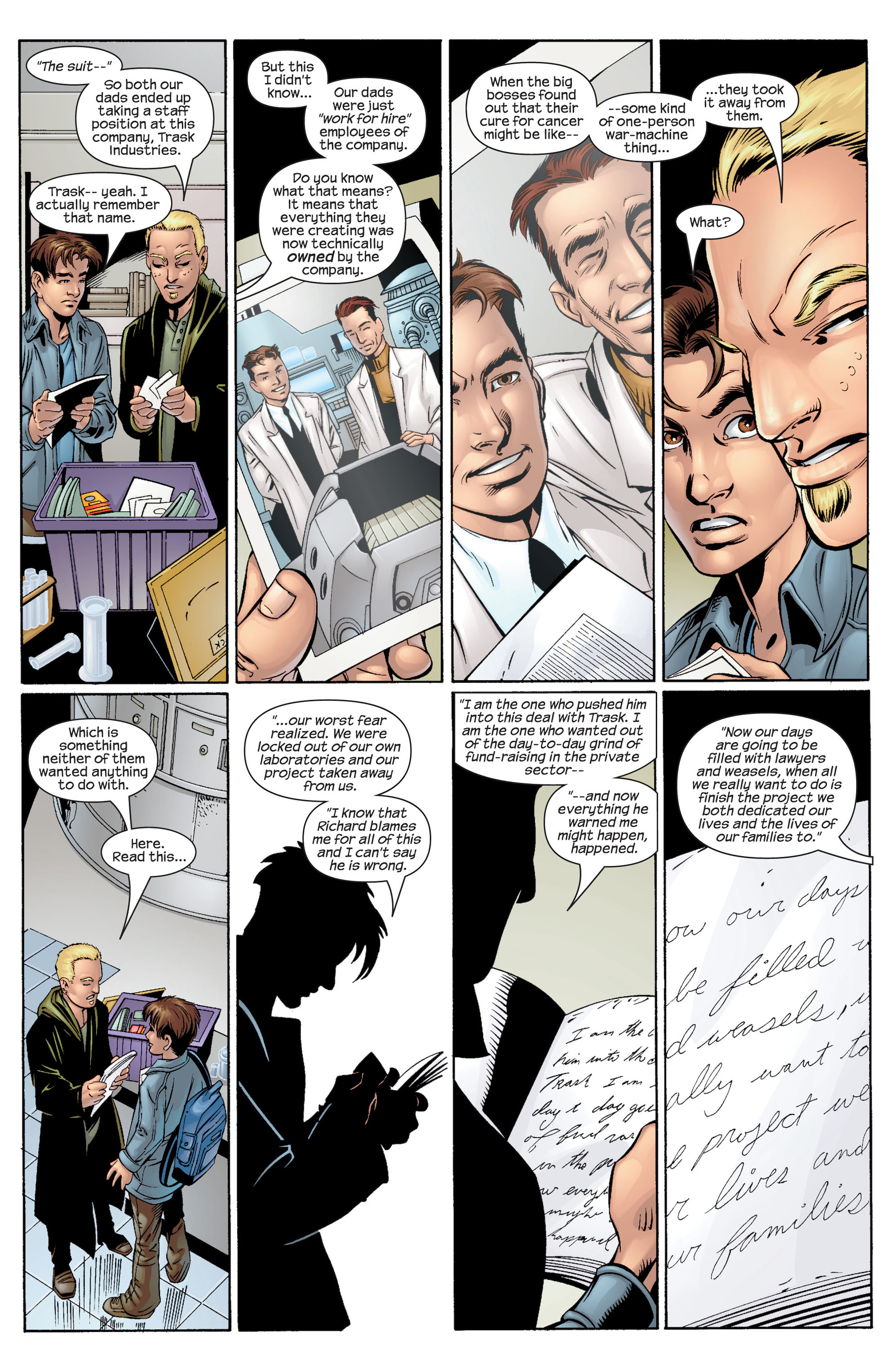 Read online Ultimate Spider-Man (2000) comic -  Issue #34 - 5