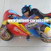 Balon Foil Karakter Motor Batman Merah