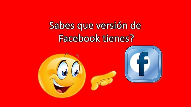 si quieres ver la versión de facebook que tienes instalada en tu smartphone solo debes entrar a la información de la aplicación de facebook y ahí te mostrará la versión que tienes instalada