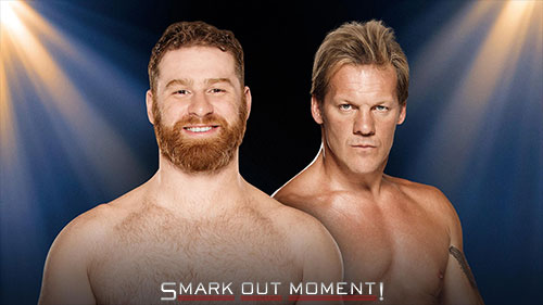 WWE Clash of Champions 2016 Y2J vs Zayn match