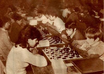 Barcelona 1972 - I Trofeo Dicen de Ajedrez Escolar