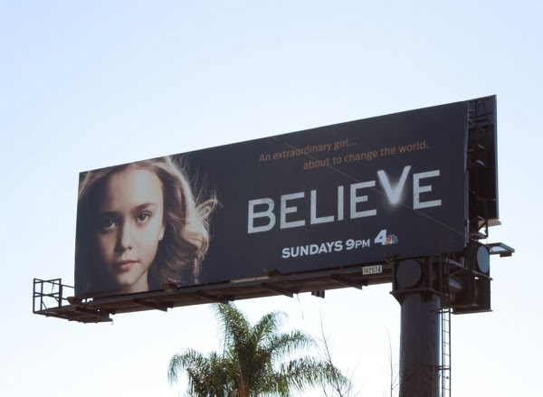 Believe TV billboard
