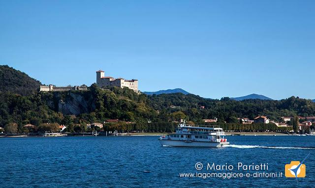 lago maggiore e Rocca di Angera