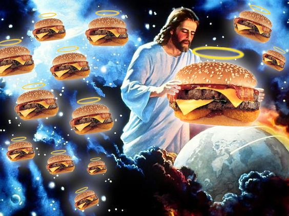 Jesus, Burger King of Kings Funny Religious Picture
