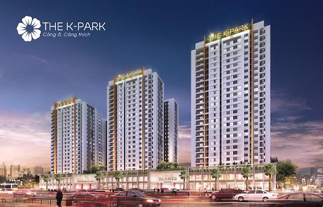 Phối cảnh chung cư The K Park Hà Đông
