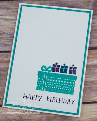Make in a moment Birthday Card featuring Cozy Critters from Stampin' Up! UK which you can get here