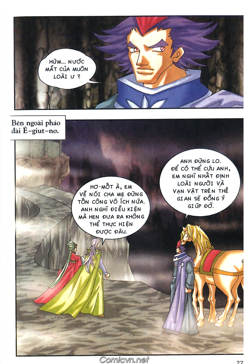 Thần thoại Bắc Âu - Chapter 46: Thần Dũng Cảm - Pic 28