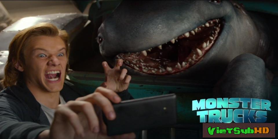Phim Chiếc Xe Tải Quái Vật VietSub HD | Monster Trucks 2017