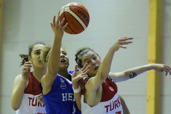 Ευρωπαϊκό Νεανίδων U18 : Τουρκία – Ελλάδα 57-62