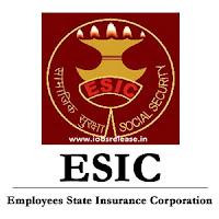 ESIC Jobs,latest govt jobs,govt jobs,