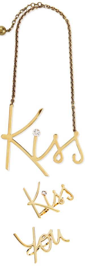 Lanvin Kiss Jewelry