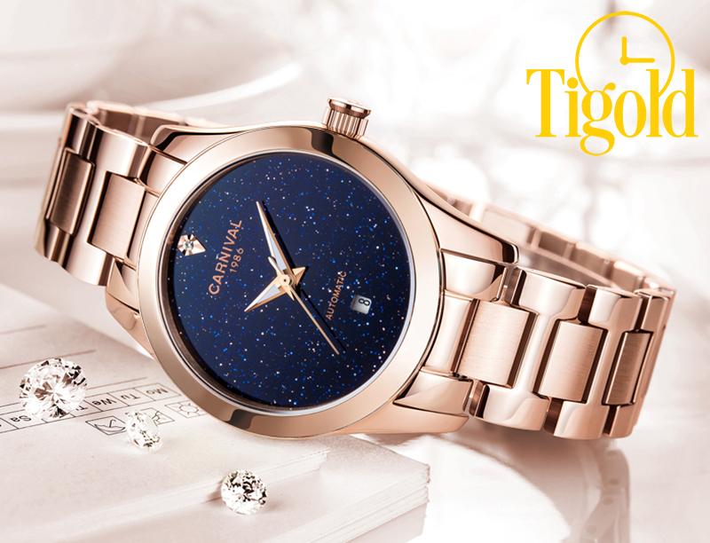 Đồng hồ nữ Carnival chính hãng làm quà tặng 8-3