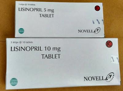 Harga Lisinopril Terbaru 2017 Obat Hipertensi