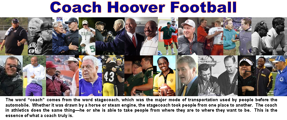 Coach Hoover Football