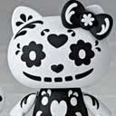 FIGURA HELLO KITTY BLACK SKULL Ver. REVOLTECH