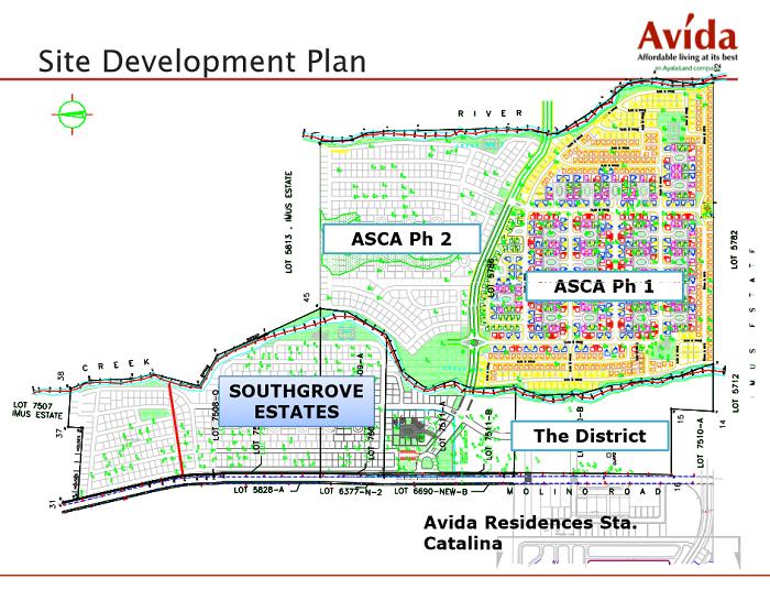 Avida South Grove Site Development