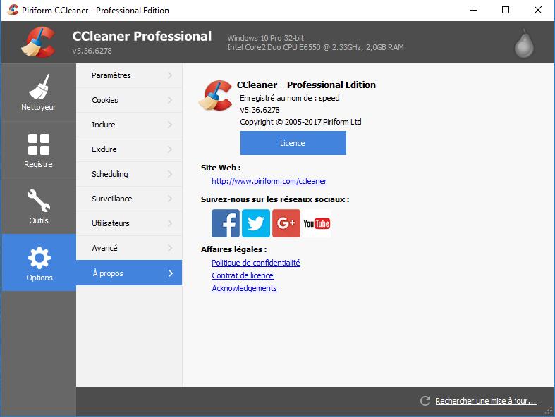 تحميل وتفعيل برنامج تنظيف الأجهزة Ccleaner Professional Plus