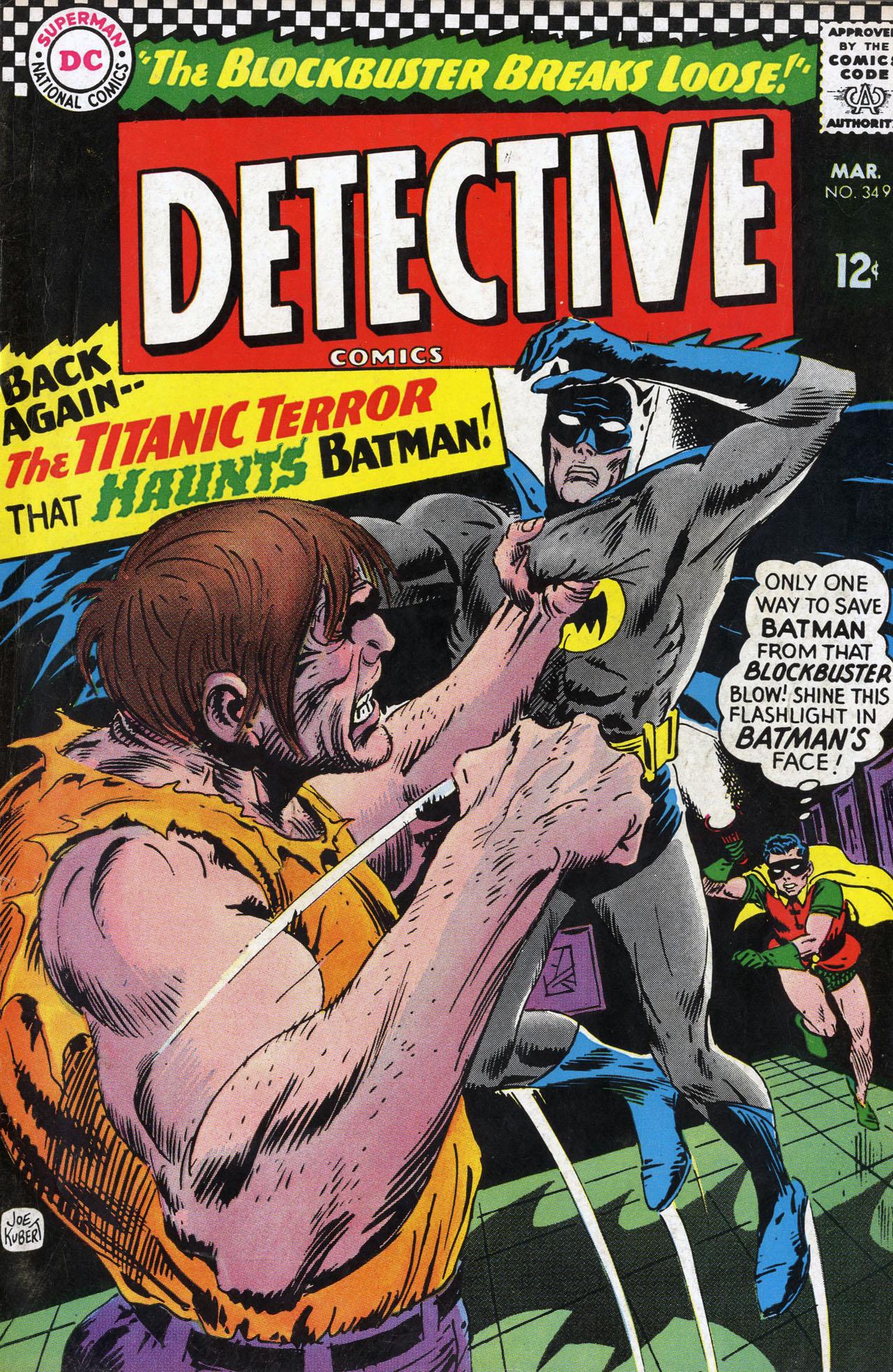 Detective Comics (1937) 349 Page 1