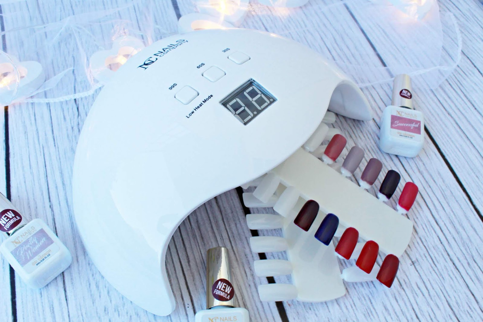 NC Nails Company - Lampa UV/LED 40 W.