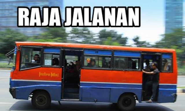 Meme Metromini - Raja Jalanan