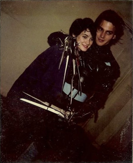 Infinite People: Winona Ryder and Johnny Depp on the set ...