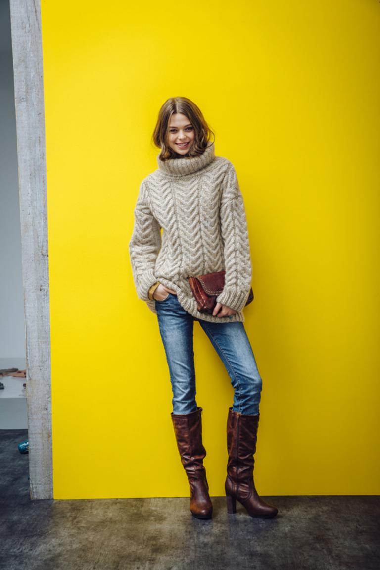 Lekkere Warme Trui.Vintage Knitting Free Patterns Gratis Breipatronen Onder Andere