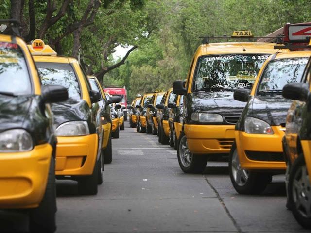 Táxis em Mendoza na Argentina