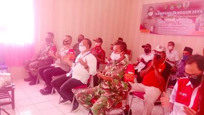 Polsek Pakuhaji Laksanakan Zoom Metting Kampung Tangguh Bersama 3 Pilar
