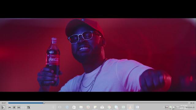 Falz meets ?Something Light? in Coke Studio TV Commercial