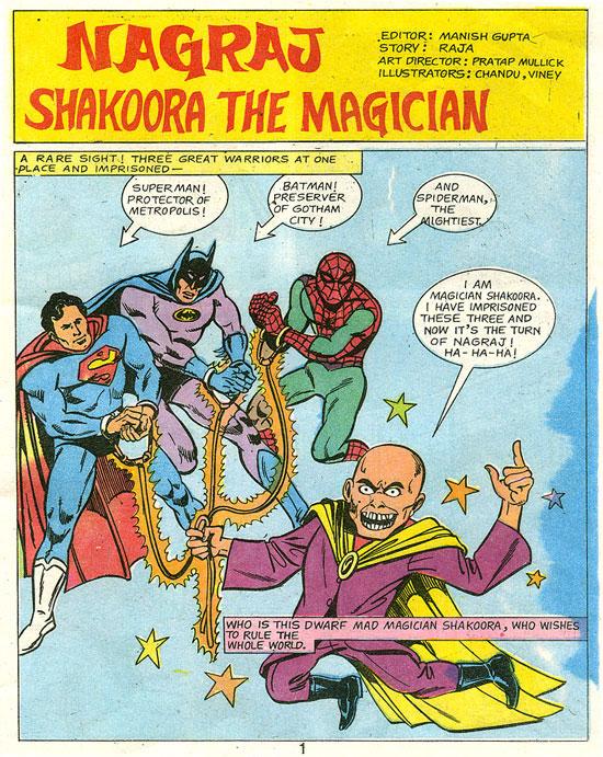 Nagraj Vs. Shakoora The Magician