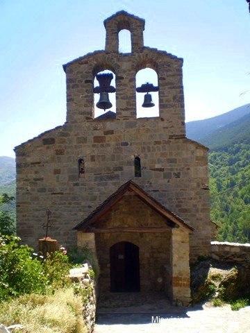 Iglesia de Santa María de Cardet, Valle de Boi (Lérida)