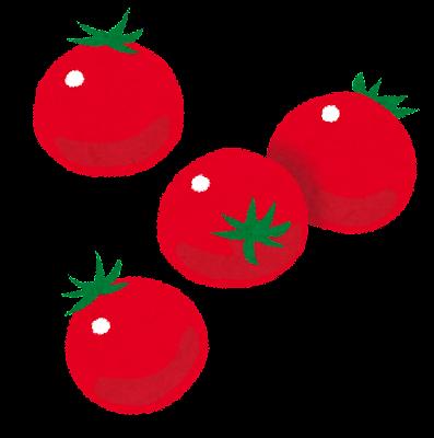 ミニトマト・プチトマトのイラスト