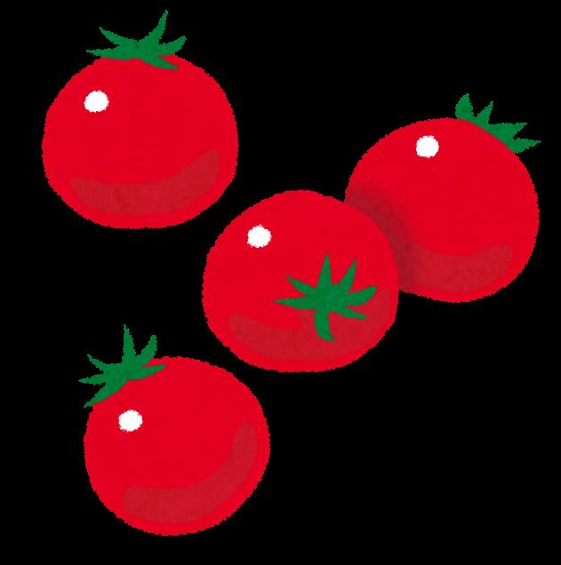 ミニトマトプチトマトのイラスト かわいいフリー素材集 いらすとや