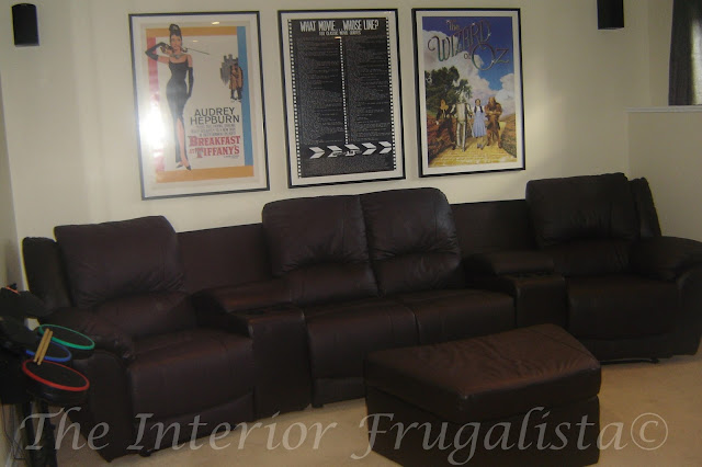 DIY Home Theater Room