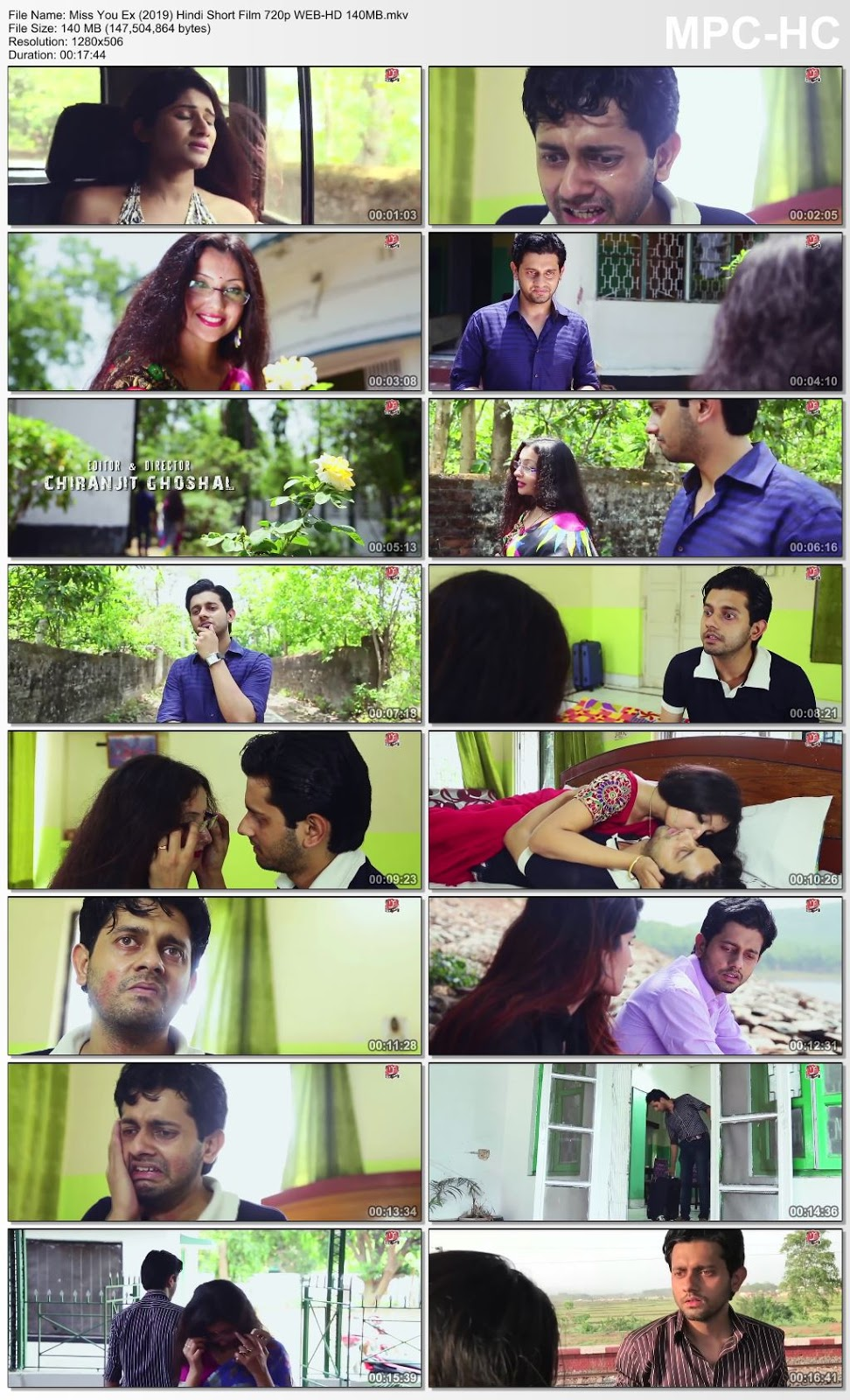 Miss You Ex (2019) Hindi Short Film 720p WEB-HD 140MB Desirehub
