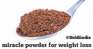 Amazing natural powder
