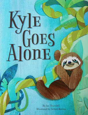 Ashley Barron cover illustration, Kyle Goes Alone