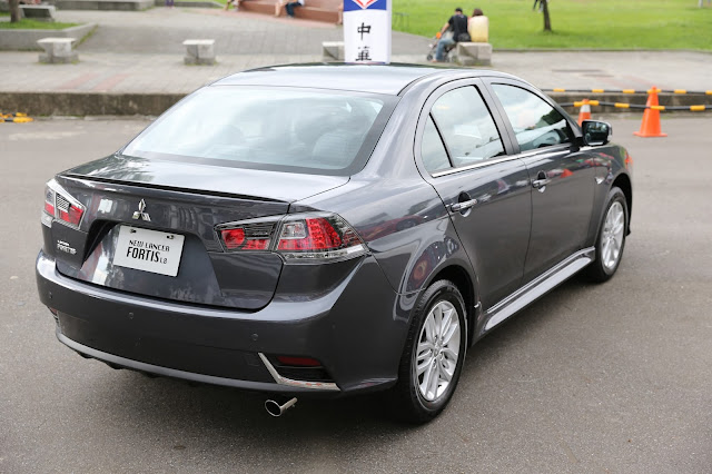 兜風歡樂時光: LANCER io & FORTIS 新車發表現場